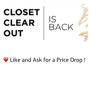 Ask for Price Drops ! Clearance Sale